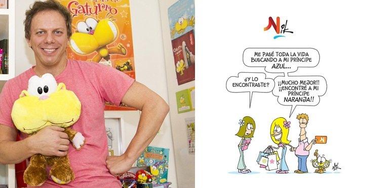 Empresa denunció a Nik por utilizar su logo en un chiste