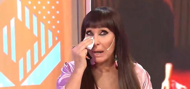 Moria Casán lloró al recordar su pelea con Sofía Gala: