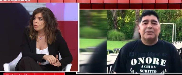 7a0d39bd19d7 Dalma Maradona, enojadísima con las versiones sobre la salud de su papá