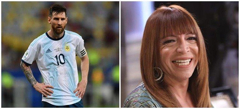 El divertido descubrimiento de Lizy Tagliani sobre Lionel Messi: