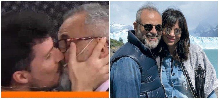Romina Pereiro furiosa con el beso entre Jorge Rial y Guido Záffora: