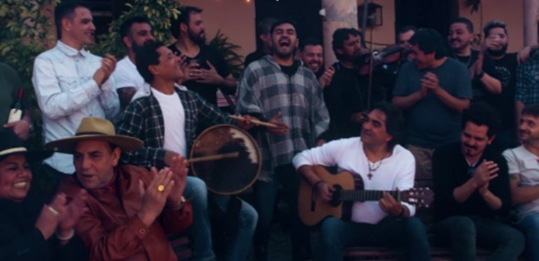 Los Nocheros presentaron nuevo video junto a grandes amigos del folklore - Revista Pronto