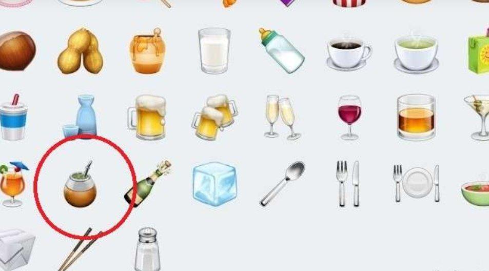 El emoji del mate ya se puede usar en WhatsApp