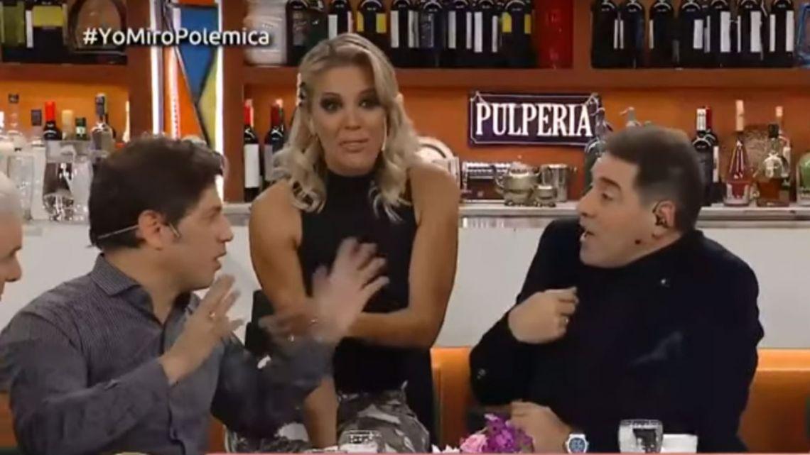Mariano Iúdica le pidió explicaciones a Virginia Gallardo en vivo