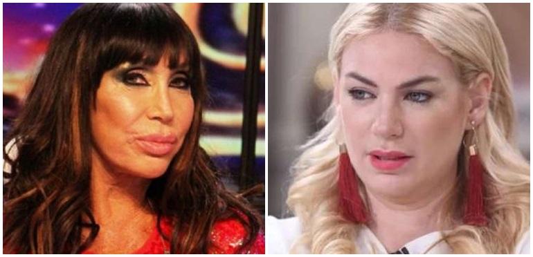 """Moria Casán tildó de """"rellenita"""" a Esmeralda Mitre: """"Le vi la cara como el doble"""""""