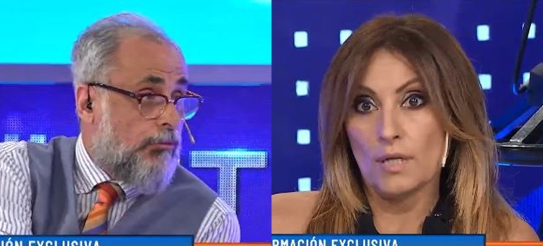 Tenso cruce al aire entre Marcela Tauro y Jorge Rial: