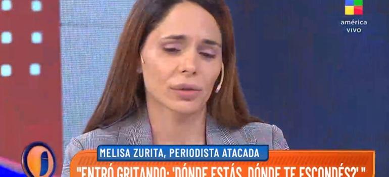 """El drama de Melisa Zurita después del ataque de la ex de su marido : """"Estoy medicada, sin dormir y con custodia"""""""