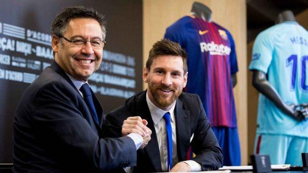 Escándalo en el equipo de Messi: allanan las oficinas del Barcelona y  detienen al ex Presidente Bartomeu | Pronto
